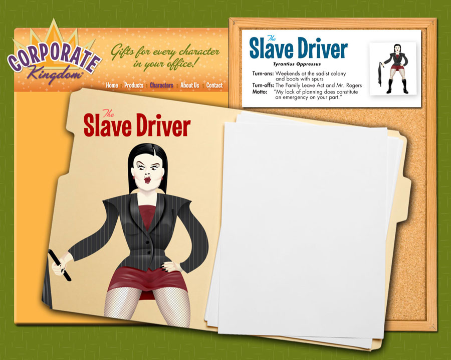 Slave Driver Illustration