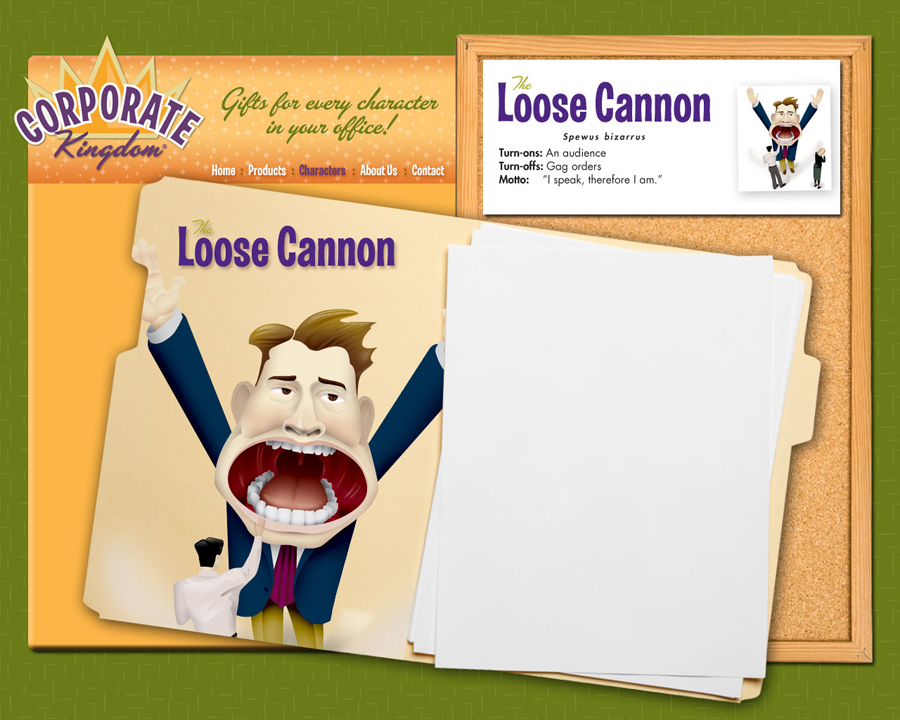 Loose Cannon Illustration